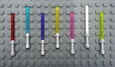 New! LEGO Star Wars lightsabers with metallic hilt. You choose blade color.