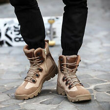 New Men's Boots Original SWAT Special Force Combat Lace Up Work Security Boots