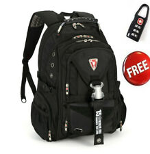 "Fashion 15.6"" Swiss Gear Travel Bags Macbook laptop hiking backpack student bag"