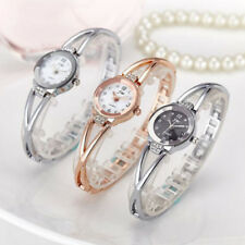 Fad Womens Lady Bracelet Wrist Watches Luxury Rhinestone Quartz Analog Watch FG