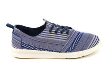 Toms Mens Cultural Woven Viaje in Blue Sizes 7-13 BNIB