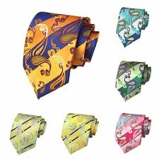 Classic Dark 100% New Jacquard Woven Silk Men's Fashion Tie Necktie 20 Colors