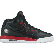 JORDAN MENS FLIGHT TRADITION BASKETBALL BLACK WHITE RED SHOES **FREE POST AUST