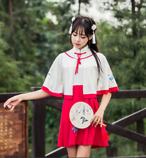 Vintage Punk Gothic Lolita Dress Qipao Cheongsam Costume Chinese Women Dress 255