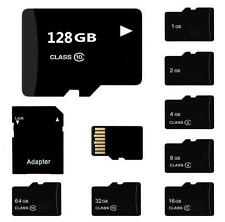 Hot 2- 64GB High Speed Micro SD Storage SDHC TF Memory Card W/SD Adapter New