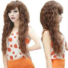 Long Sexy Hair Wigs Full Curly Party Fashion Womens Cosplay New Wavy 3 Colors
