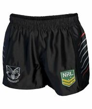 New Zealand Warriors 2017 NRL Mens Supporter Shorts BNWT Rugby League Clothing
