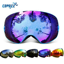 Copozz Skiing Goggles Snow Ski Winter Sport Dual Layer Lenses Anti-fog UV400