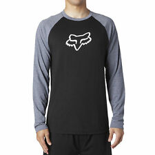 FOX HEAD RACING STRATEGIZE LS TECH TEE (BLK/GRY OR RED/BLK)