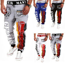 Mens Casual Gym Training Jogging Bottoms Trousers Tracksuit Sport Sweat Pants