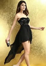 women Casual Charming Boulevard Sequined Shining Long evening party Dance dress