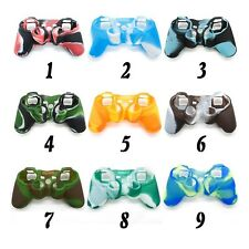 Protective Silicone Skin Cover Case for PS3 Controller Game Consoles