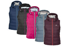 Trespass REDVALE Womens Ladies Padded Body Warmer Sleeveless Jacket Hooded Gilet