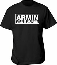 T SHIRT ARMIN van BUUREN trance colours state adult all sizes house ibiza dj mus