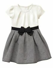 NWT Gymboree CATASTIC Striped Pleated Dress SZ 2T, 3T,4T Toddler Girls