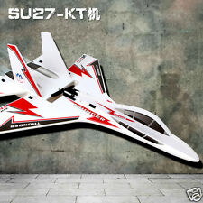KT SU-27 Airplane/Jet+6CH RC Fighter Foam Glider Kits Helicopter+Charger+Battery