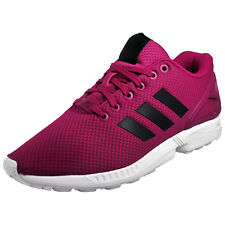 Adidas Originals ZX Flux Mens Classic Casual Retro Gym Workout Trainers Plum