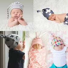 Infant Beanie Warm Winter Baby Hat Knot Knit Cap
