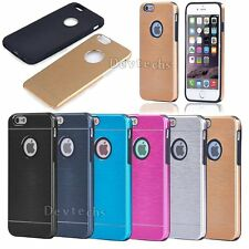 Ultra Slim Metal Bumper Luxury Hard Back Case Cover For Apple iPhone 6 6S 4.7