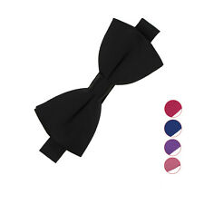 New Man Hot Tuxedo Classic Adjustable Necktie Bow Tie Solid Party Wedding Gifts