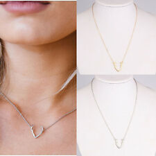 HOT Antler Alloy Short Simple Clavicle Chain Pendant New Women Fashion Jewelry
