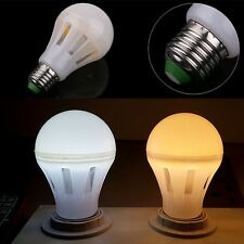 E27 LED Light Bulb MCOB 360° Emitting Warm Cool Lamp Energy Saving AC85-265V