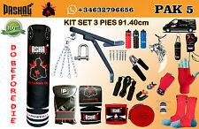 Punching Bag Chain  Punch Gloves Unfilled Boxing Training set 5 Type
