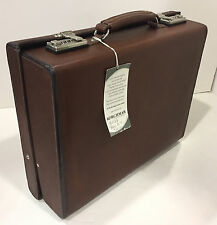 "New KORCHMAR Classic 5"" A1136 Chancelor Leather Briefcase Attache $1050"