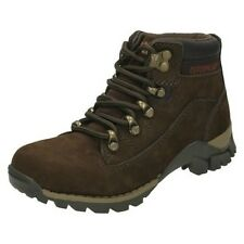 Boys Cat Chamonix Mid Cut Lace Up Boot