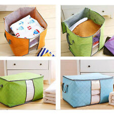 Portable Non Woven Pouch Holder Blanket Pillow Underbed Foldable Storage Bag