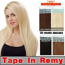 "16"" 18"" 20"" Tape In Virgin Remy Human Hair Extension Weft Human Hair Extensions"