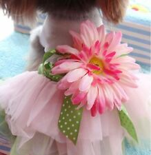 Small Medium Dog Dress Cute Tutu Lace Princess Pet Dress Puppy Vest Dog Shirt
