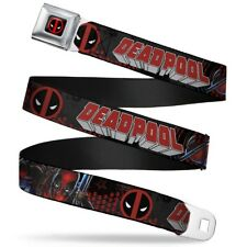 Deadpool Marvel Comics Antihero Masked Attack Seatbelt Belt