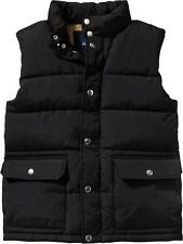 OLD NAVY Men's Quilted Frost Free Canvas Vest Black M XL Medium Extra Large NWT