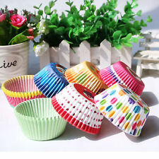 Colorful 100PCs Cute Cup Paper Liner Candy Muffin Cupcake Cup Cake Baking Mold