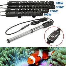 100/200/300/400W 110V Aquarium Submersible Fish Tank Adjustable Water Heater New
