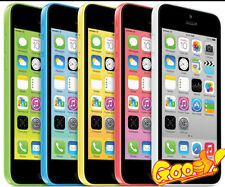 "Apple iPhone 5C- 8GB 16GB 32GB GSM ""Factory Unlocked"" Smartphone All Color GOON"