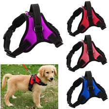 Adjustable Large Dog Harness Pet Puppy Vest Collar Walking Out Hand Strap S-XL