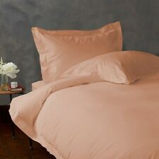 ULTIMATE 1000TC 100% COTTON PEACH SOLID BEDDING SETS CHOOSE DESIRED ITEM & SIZE