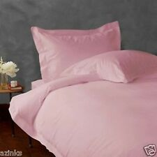 ULTIMATE 1000TC 100% COTTON PINK SOLID BEDDING SETS CHOOSE DESIRED ITEM & SIZE