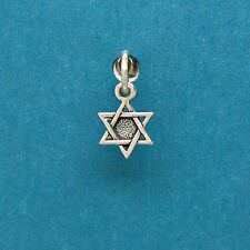 Star of David 925 Sterling Silver Mini Charm for Bracelets w- Options