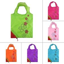 1PCS Strawberry Foldable Shopping Bag Tote Reusable Eco Friendly Grocery Bag FY