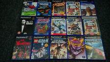 Playstation 2/PS2 Games Make Your Own Bundle/Joblot Tested Without Manual (1)