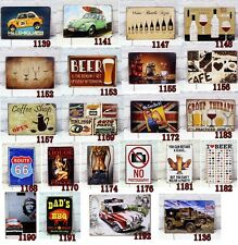 Classic Bar Cafe Shop Garage Vintage Wall Decor Retro Metal Tin Signs Art Poster