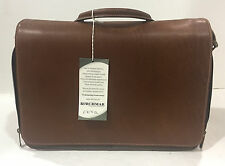 New KORCHMAR F3171 Hybrid Laptop Messenger Leather Briefcase Bag $425