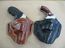 Azula Leather OWB Two Slot Pancake Belt Holster CCW For.. Choose Color & Gun LH