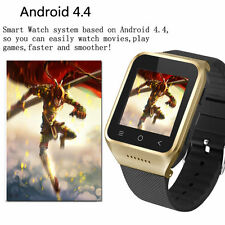 """S8 1.54"""" Touch Screen Dual-core Android 4.4 3G WiFi GPS HD camera Smart Watch"""