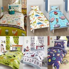 Character Junior Bed, Toddler Bed, Cot Bed Duvet Cover & Pillowcase Sets