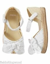 NWT Gymboree egg hunt Eyelet Dress Shoes SZ 7.8 Toddler girls Easter Holiday