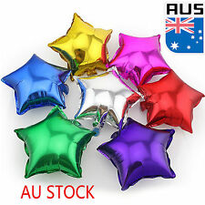Colorful 10pcs Stars Foil Balloon Birthday Wedding Helium Party Balloons Decor